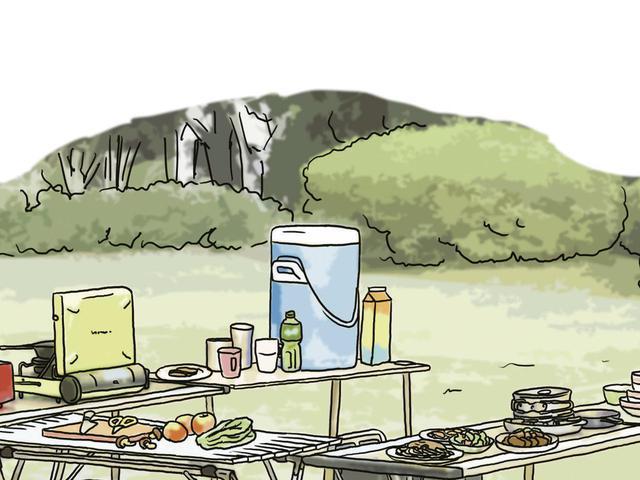 画像12: イラスト提供・キャンプ情報誌「 fam_mag(ファム マグ)」