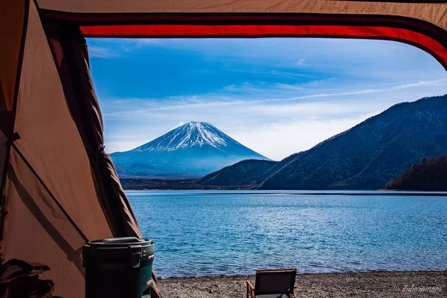 画像: 筆者撮影 冬の浩庵キャンプ場にて