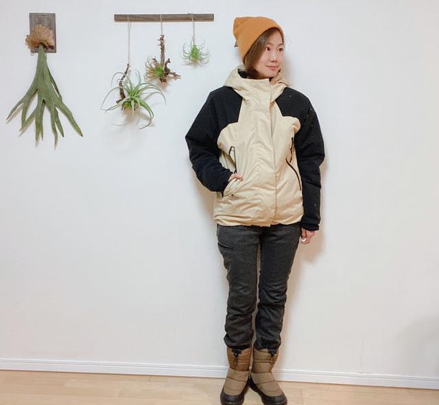 画像: モデル:サリー(この記事を書いた人)身長163cm/アウターM/パンツS/ブーツS