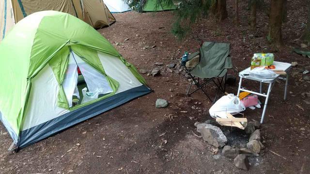 画像: 【テントレビュー】キャプテンスタッグのクレセントをソロキャンプで使ってみたら、とても快適だった! - ハピキャン(HAPPY CAMPER)