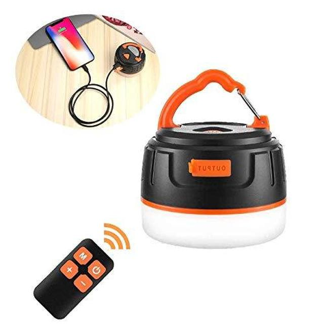 画像1: 充電式「BRISIEリモコン付きLEDランタン」をレビュー! リモコン付きで寝ながら操作可能