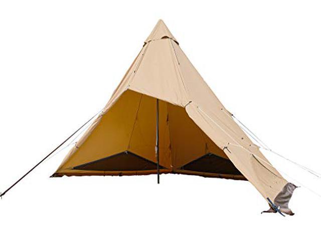 画像1: テンマクデザインおすすめテント 三角形テントに女子向け・ファミリー向けなど厳選5選