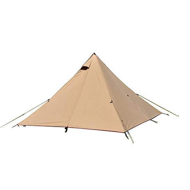 画像2: テンマクデザインおすすめテント 三角形テントに女子向け・ファミリー向けなど厳選5選