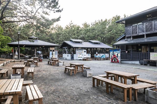 画像: 柳島キャンプ場雑感1 (photographer吉田達史)