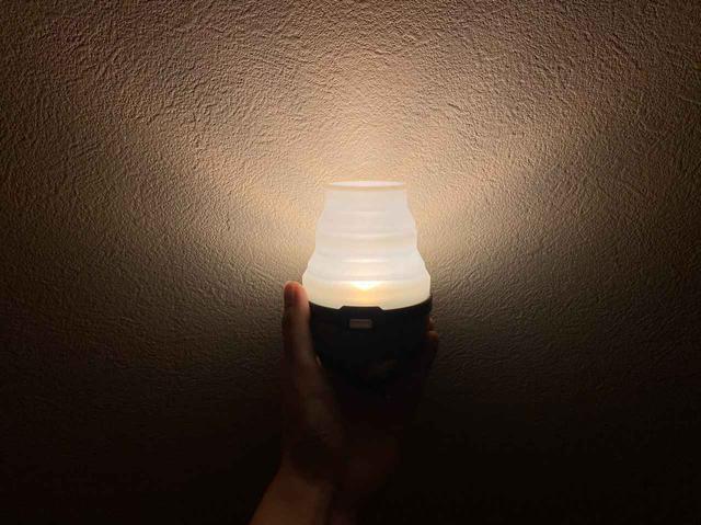画像: 【おすすめLEDランタン8】機能性もコスパも◎ DOD『LEDソーラーポップアップランタン』