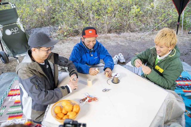 画像1: 【おぎやはぎのハピキャン】コタツやロッキングチェアをDIY! タケトさんと楽しむこだわりのDIYキャンプ 〜後編〜 - ハピキャン(HAPPY CAMPER)