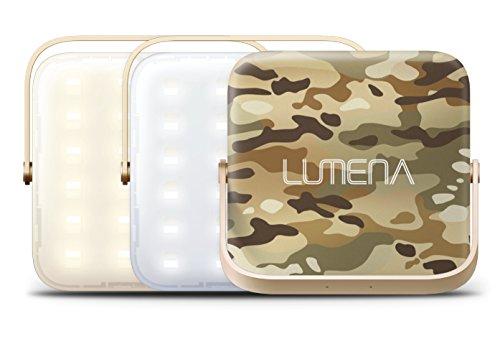 画像1: 「ルーメナー2」を実際にアウトドアで使ってみた! 三脚に取り付け可能なLEDランタン