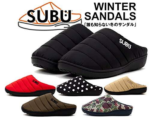 画像2: 【筆者愛用】防寒最強冬用サンダル「SUBU」を徹底解析 履き心地も抜群・アウトドアや室内用としても◎