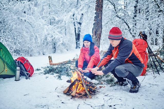 画像: 【ポイント1】焚火は冬キャンプにとっては「暖房」ではないことを意識しよう