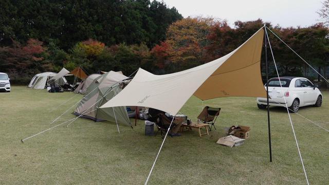 画像: 【キャンプデビュー】初めての夫婦キャンプその1~キャンプ場到着からテント・タープ設営まで~ - ハピキャン(HAPPY CAMPER)
