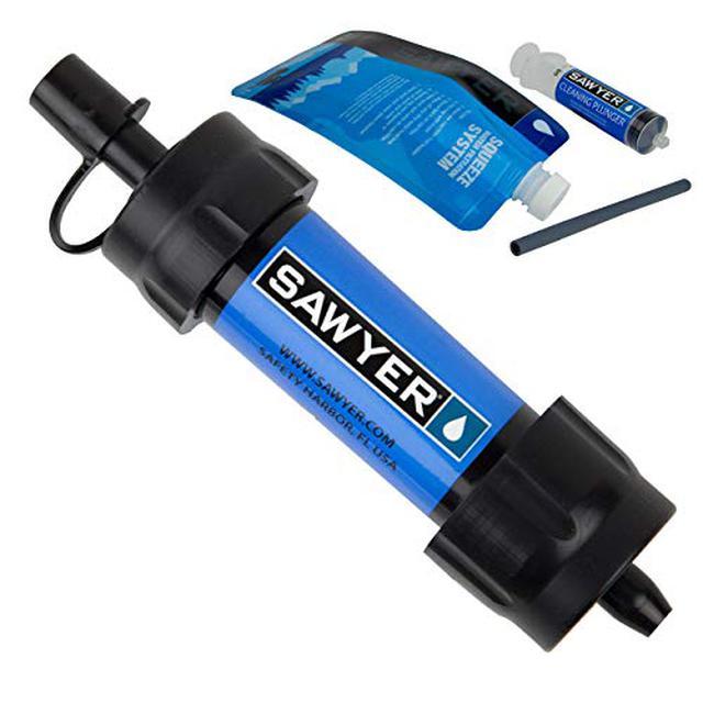 画像1: ソーヤーの『浄水器』で川の水を安全な飲み水に変えられる! 災害時にもあなたのポケットに