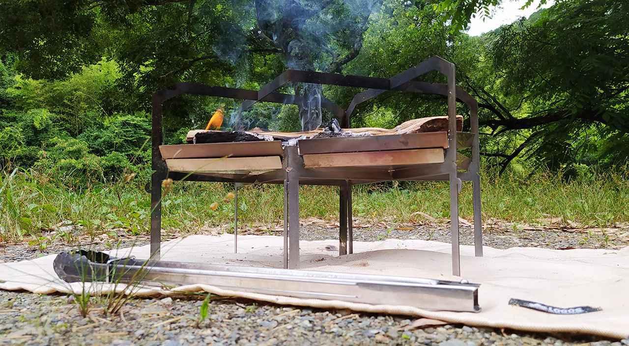 画像: 【おすすめ焚き火シート】ロゴスなどの「焚き火シート」使い比べレビュー! 焚き火をより安全に楽しく - ハピキャン(HAPPY CAMPER)