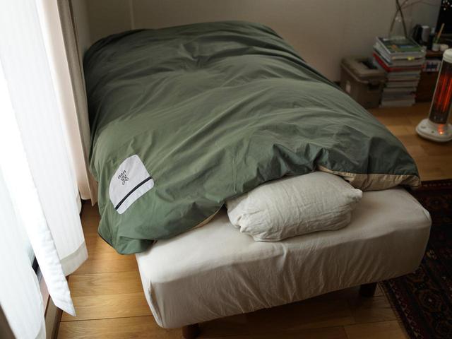 画像3: 家で使っている掛け布団をキャンプに持っていこう!