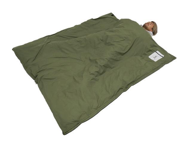 画像1: 家で使っている掛け布団をキャンプに持っていこう!