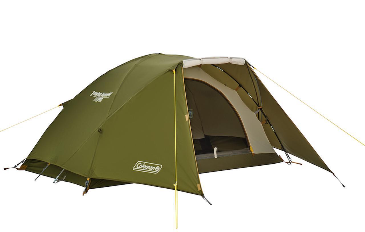 画像: ソロキャンプやツーリング時のキャンプに大人気のコンパクトテント「ツーリングドーム」 by Coleman(コールマン)