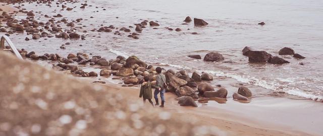 画像: 筆者撮影:宇佐美海水浴場は比較的波も穏やかでした。