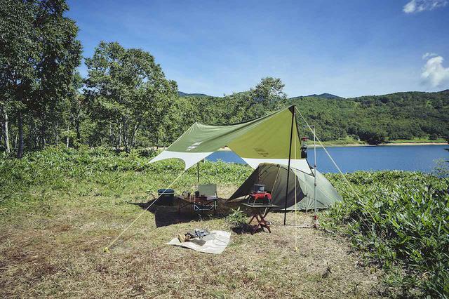 画像2: ソロキャンプ用リビングとして最適な「ヘキサライトII」 by Coleman(コールマン)