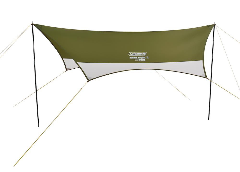 画像1: ソロキャンプ用リビングとして最適な「ヘキサライトII」 by Coleman(コールマン)
