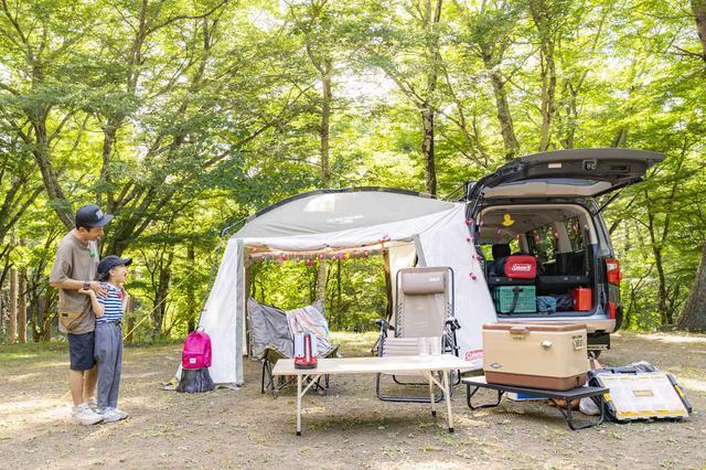 画像: Coleman(コールマン)presents『タケトのパパキャン』を見ました!初めてのキャンプでも安心★便利ギアを使ってファミリーキャンプ(第一弾) - ハピキャン(HAPPY CAMPER)