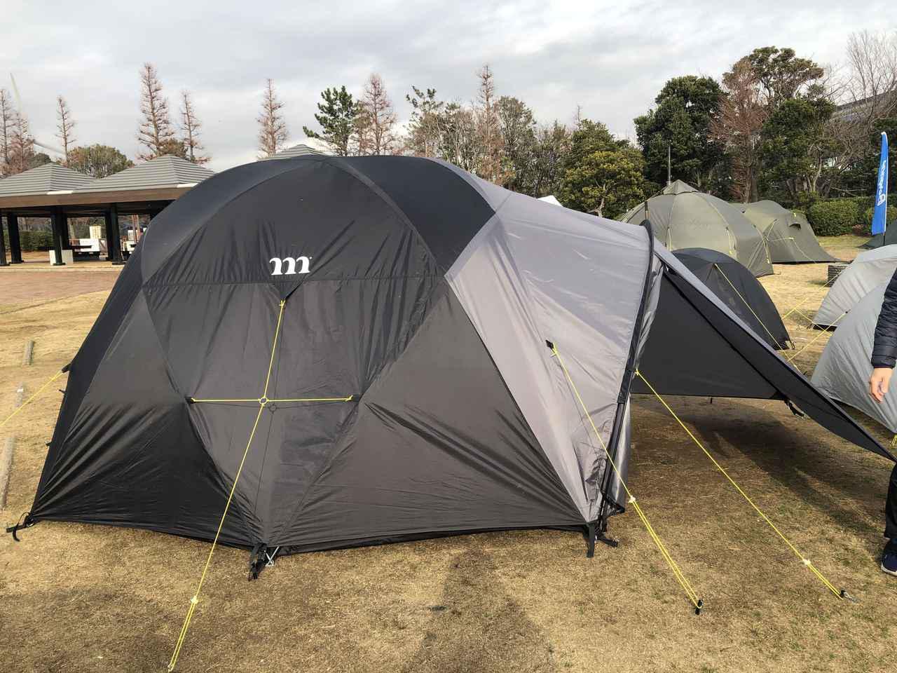 画像: 【独自取材】muraco(ムラコ)新テントは山岳用軽量モデル! 合同テント展示会レポート その3 - ハピキャン(HAPPY CAMPER)