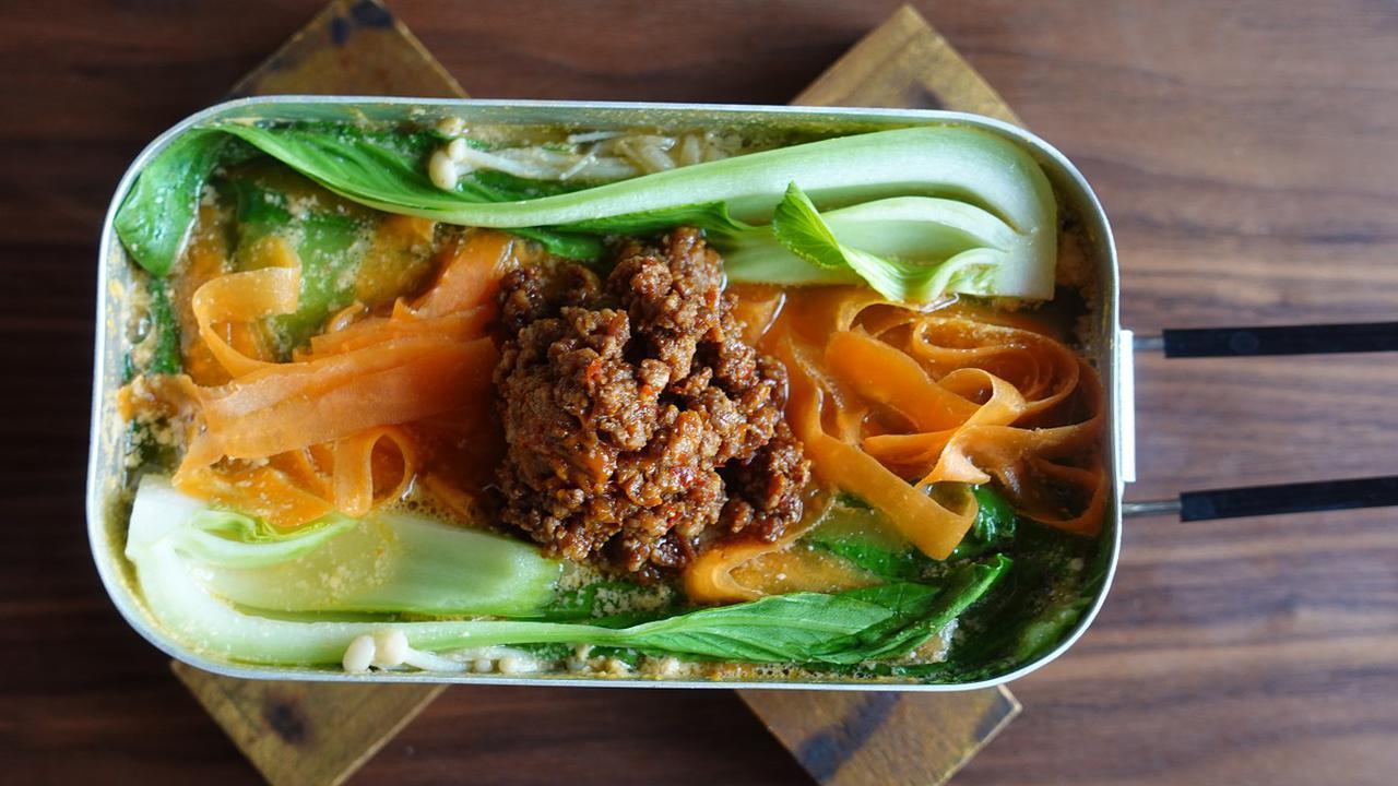 画像: 【レシピ1】辛さを調整できるピリ辛胡麻担々鍋