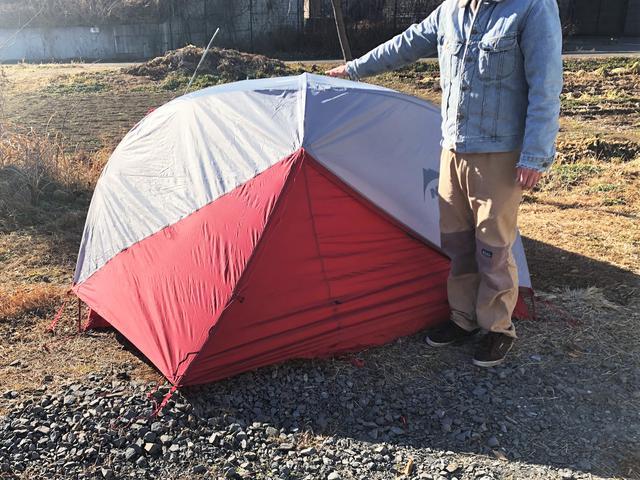 画像2: 魅力1:広々としたスペースでソロキャンプにも便利