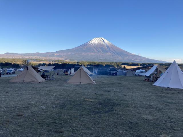 画像: 筆者撮影 真ん中エリアから臨む富士山