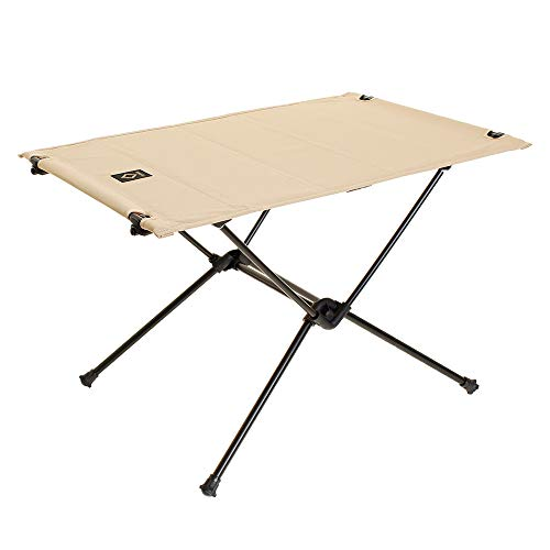 画像1: ヘリノックスの『タクティカル テーブル M』をレビュー! 機能的なアウトドアテーブルの魅力に迫る