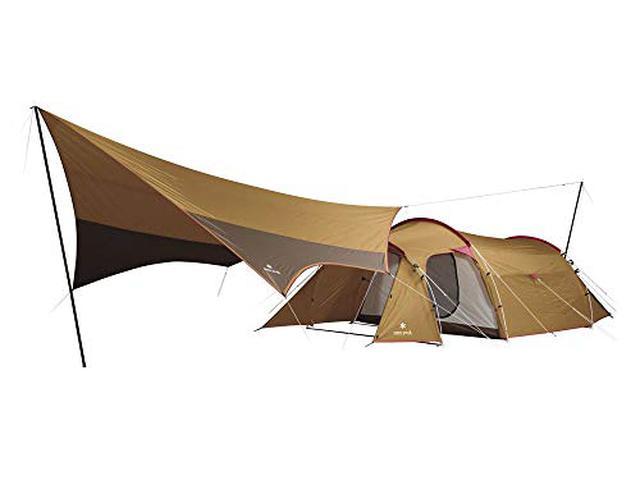 画像2: 【小川張りの方法】テントとタープの連結に挑戦しよう! メリットやデメリットもご紹介