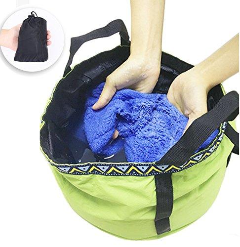 画像2: 冬キャンプで足湯を楽しもう! 自宅でのお掃除などにもおすすめな折りたたみバケツ7選