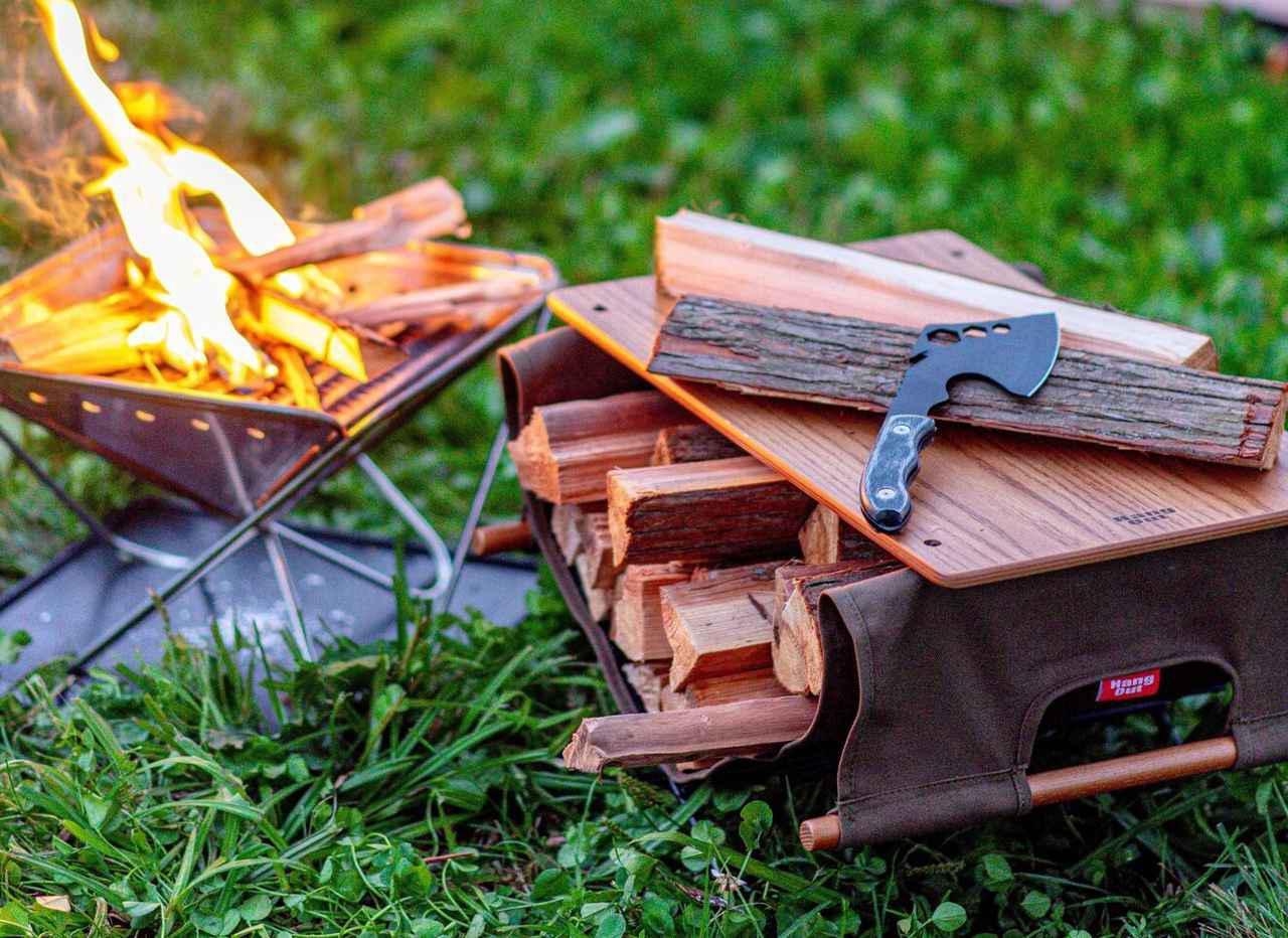 画像: 「薪バッグ」があれば薪の持ち運びが簡単に!  DOD・ロゴスなどのおすすめ5選を紹介 - ハピキャン(HAPPY CAMPER)