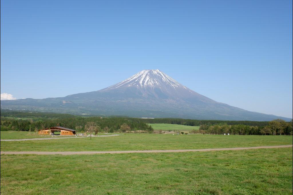画像: 各サイトから見た富士山   ふもとっぱら