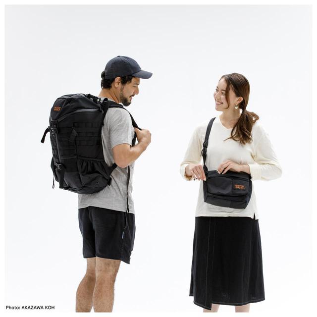 画像: 【注目リリース】MYSTERY RANCH(ミステリーランチ)から4種類の生地を1つの製品に落とし込んだ日本別注モデルが発売。その名も「CRAZY BLACK COLLECTION」 - ハピキャン(HAPPY CAMPER)