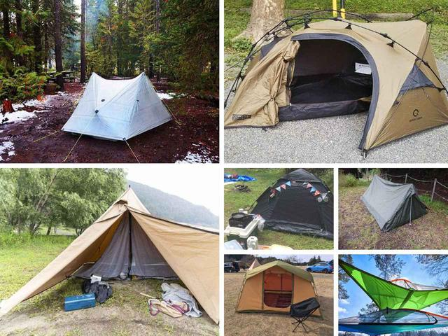 画像: 【まとめ】ソロキャンプ用テントおすすめ12選! 人気モデルから変わり種まで一挙紹介 - ハピキャン(HAPPY CAMPER)