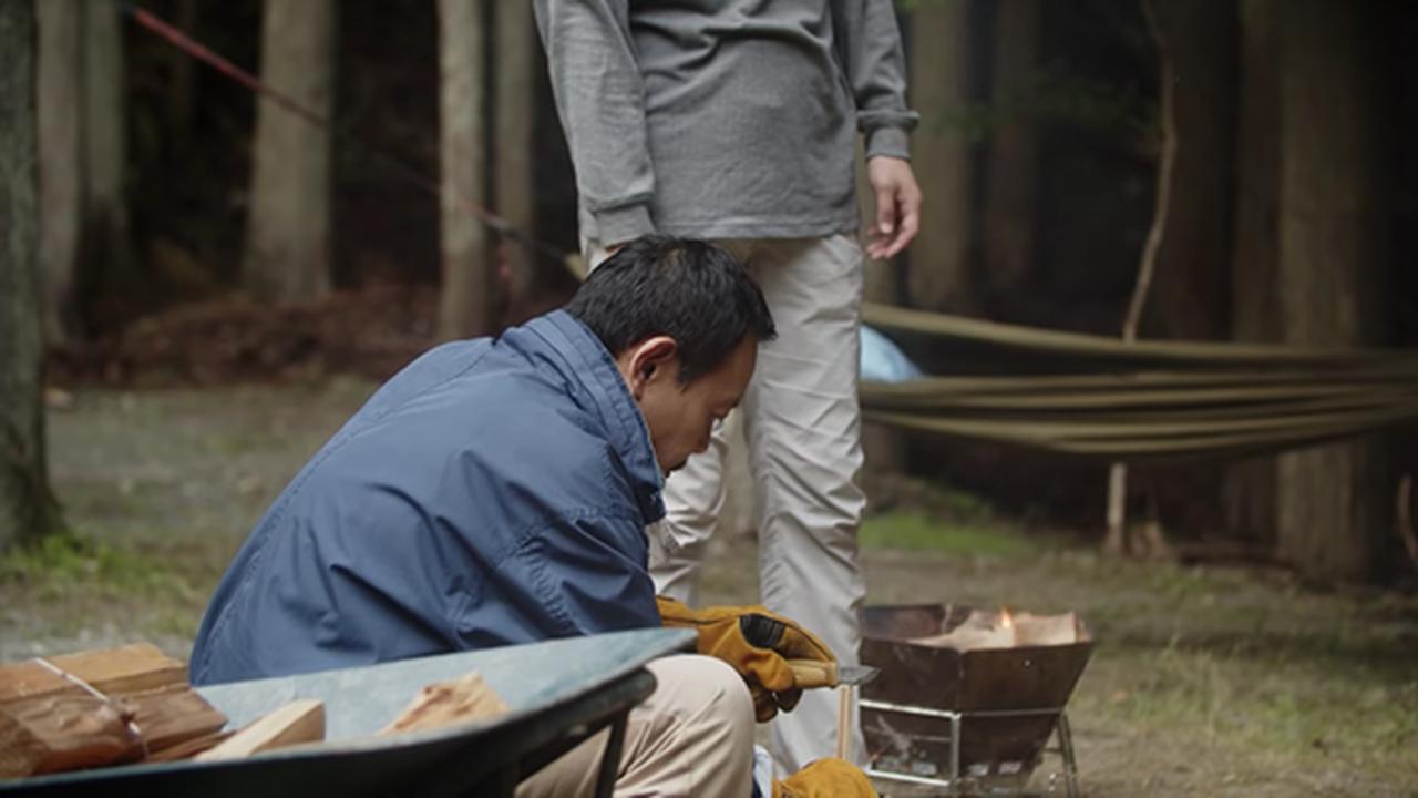 画像2: 「おやじキャンプ飯 第四話より」 www.youtube.com