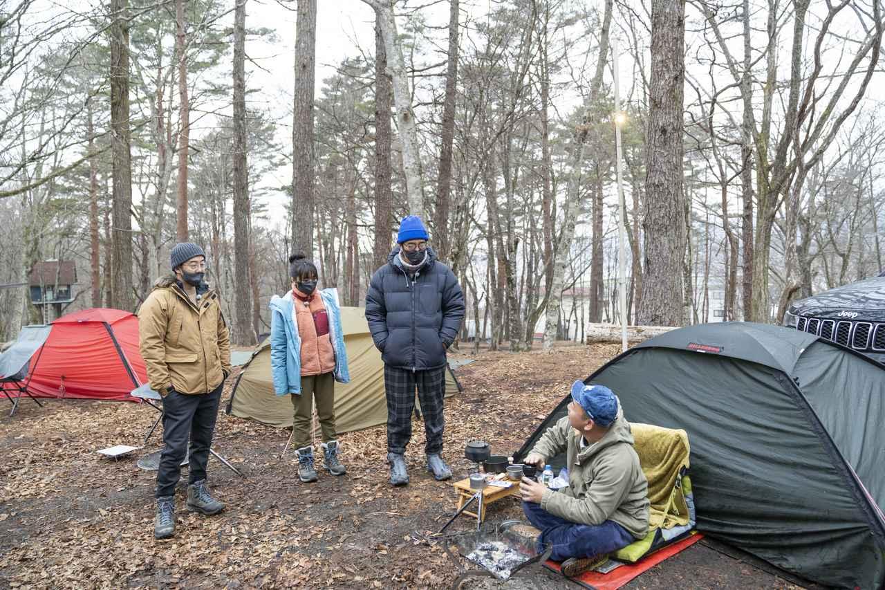 画像2: photographer 吉田 達史 (シーズン18「バイきんぐ・西村流  冬のお泊まりキャンプに挑戦」より)