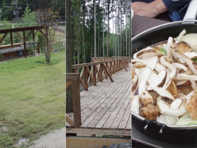 画像: 【岐阜の新設キャンプ場】松茸食べ放題コースも楽しめる新設キャンプ場「つる里園キャンプ場」を紹介 - ハピキャン(HAPPY CAMPER)