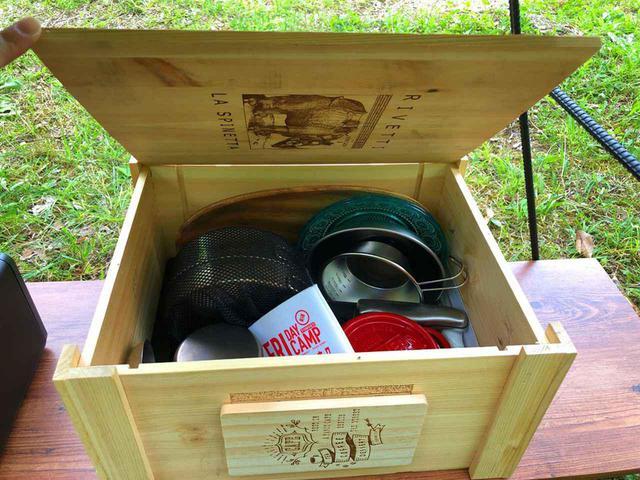 画像: (how_to_enjoy_uca撮影) DIYでつくった収納ボックス