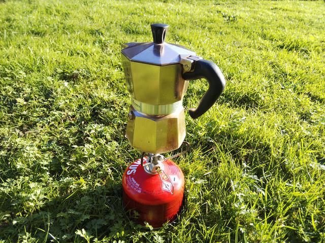 画像: コーヒーを作ったりするのに便利 (筆者撮影)