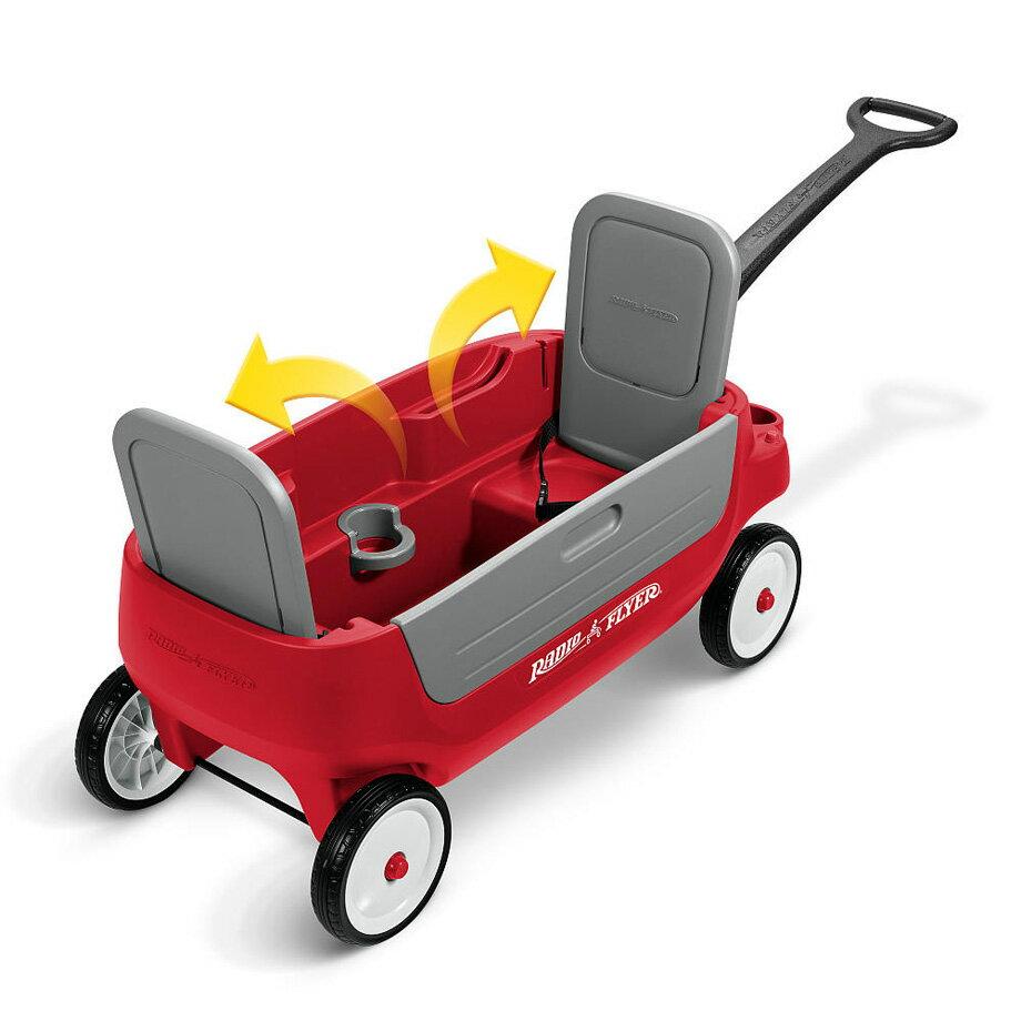 画像4: 【レビュー】子供の乗車OK!アウトドアワゴン「ラジオフライヤー」をおすすめ!ファミリーキャンパー必見