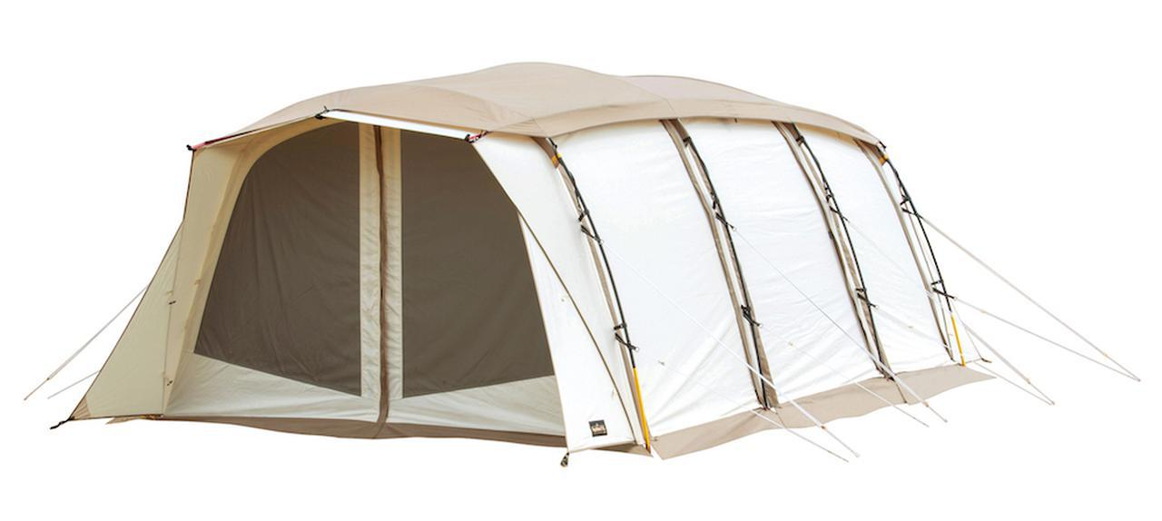 画像: スタイリング自在なテントがT/Cでさらに快適に