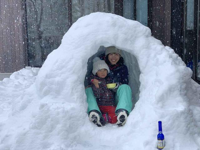 画像: 筆者撮影 2020年3月末の長野県の積雪時