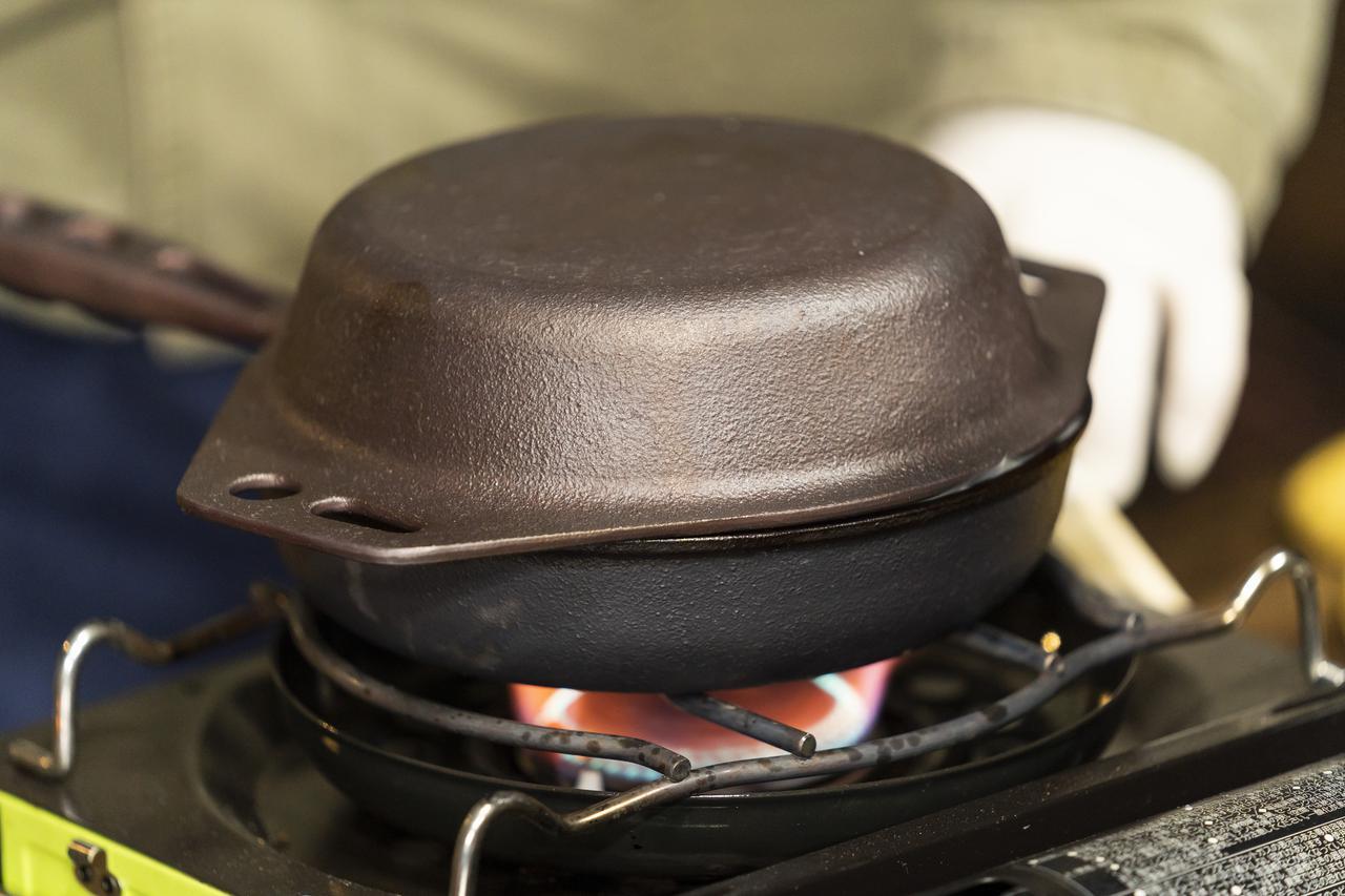 画像: おもいのマルチパンを蓋に使用 (photographer 吉田 達史)