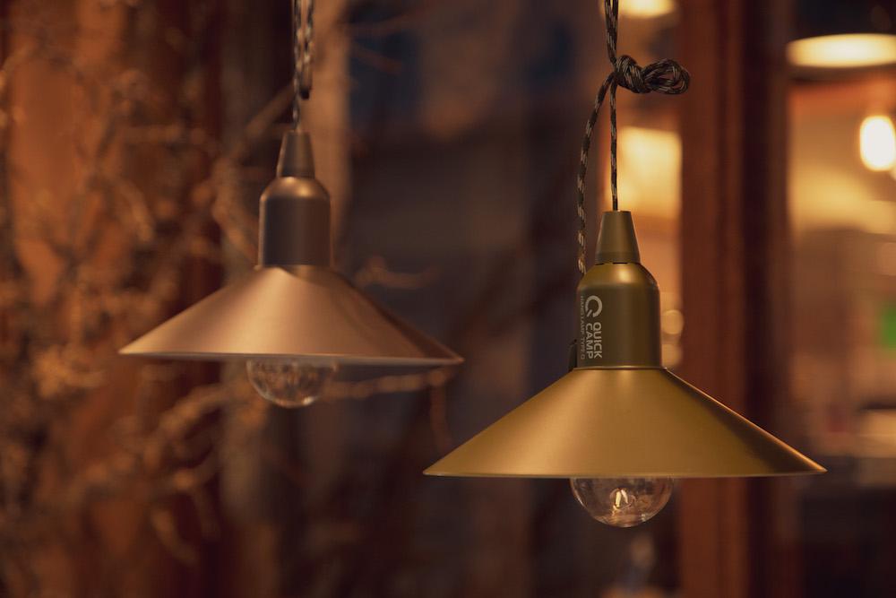 画像2: インドアでもアウトドアでも使えるオリジナルカラーの吊り下げランプ