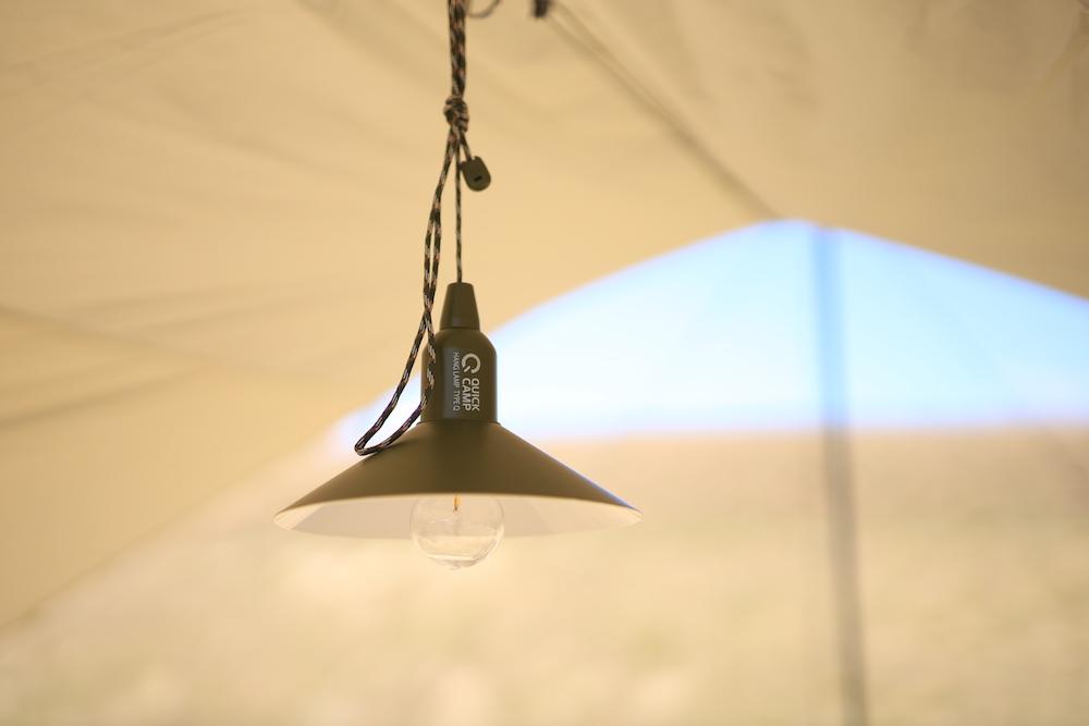 画像1: インドアでもアウトドアでも使えるオリジナルカラーの吊り下げランプ