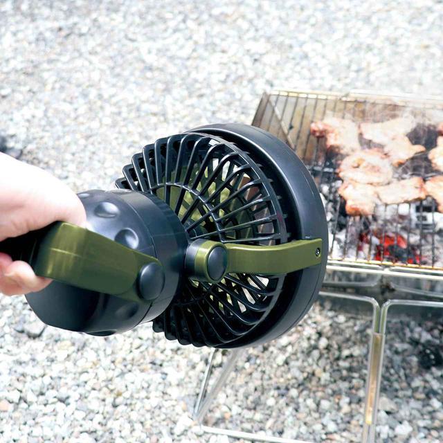 画像4: 人気の暖色ランタンと扇風機が合体!