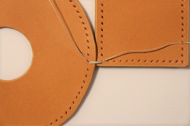 画像: 筆者撮影 縫い始めは2重に縫ってしっかり固定します