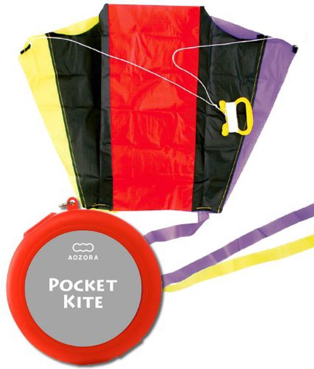 画像1: 凧揚げはキャンプ遊びに最適! ポケットカイトなどおすすめの凧&おもちゃ5選を紹介