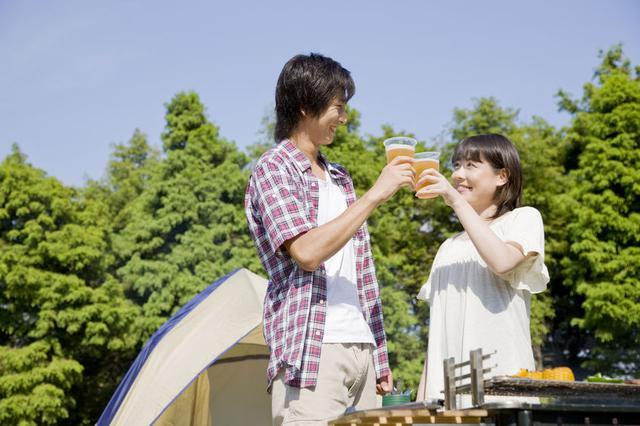 画像: ポップアップテントのメリット❸ 家族関係が良好に!設営・撤収で夫婦喧嘩に発展しない(笑)