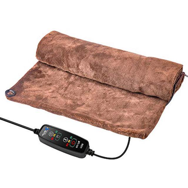 画像7: ニトリや山善などおすすめ電気毛布・ひざ掛け7選 消費電力が少なく冬キャンプ向き